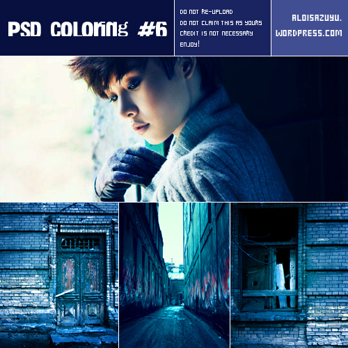 PSD Coloring #6