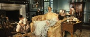 Pride & Prejudice (2005) - The Bennets in Living Room